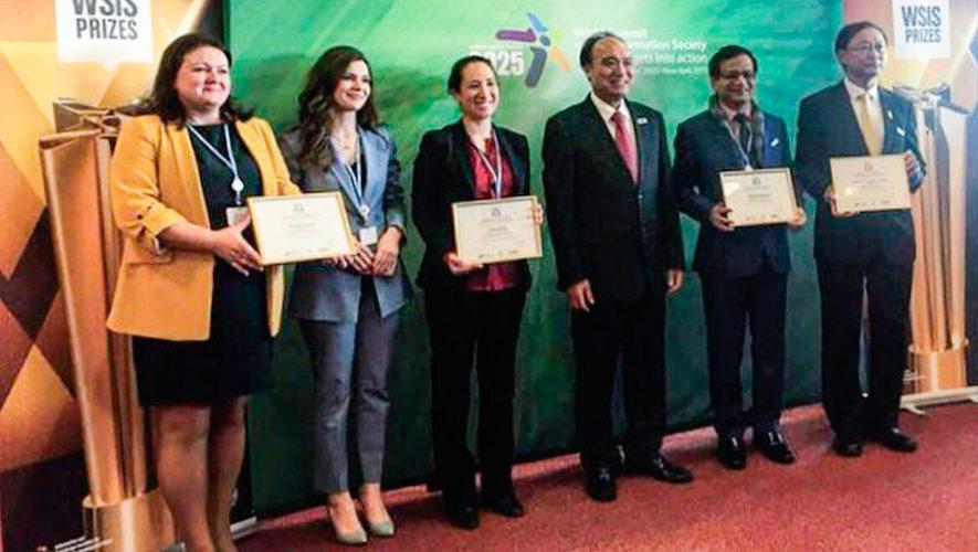 Fundación guatemalteca ganó premio de Infraestructura de la Información en Suiza