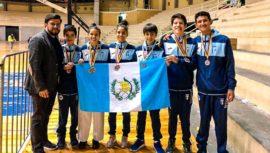 Guatemala sobresalió con 9 medallas en el Open de Ecuador 2019