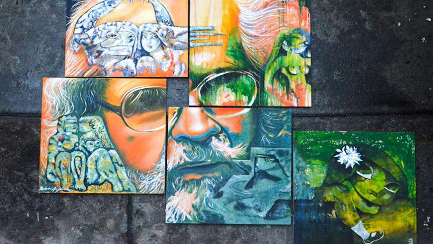 Guatemaltecos crearon plaqueta en homenaje a Efraín Recinos