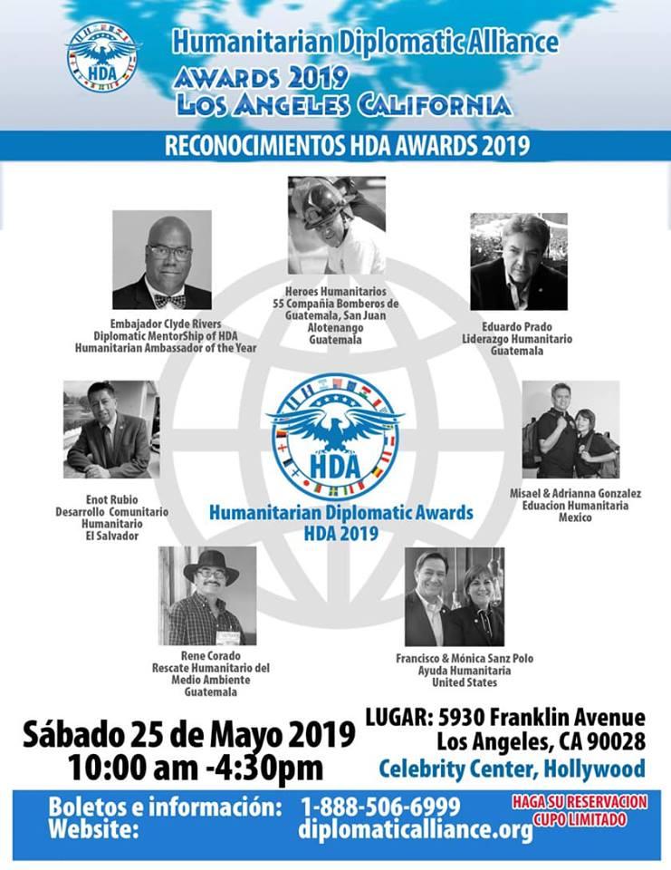 Guatemaltecos reconocidos por su labor