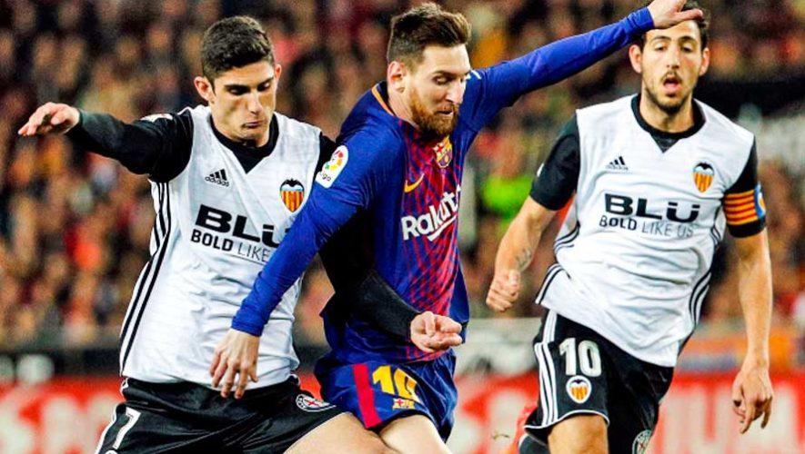 Hora y canales para ver en vivo Barcelona vs. Valencia, final de la Copa del Rey 2019 en Guatemala