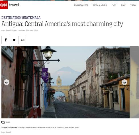 La ciudad más encantadora de Centroaméric