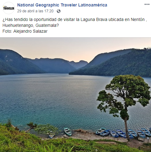 Laguna más grande del país