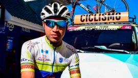 Leonardo González, primer guatemalteco en correr la Vuelta de la Juventud a Colombia 2019