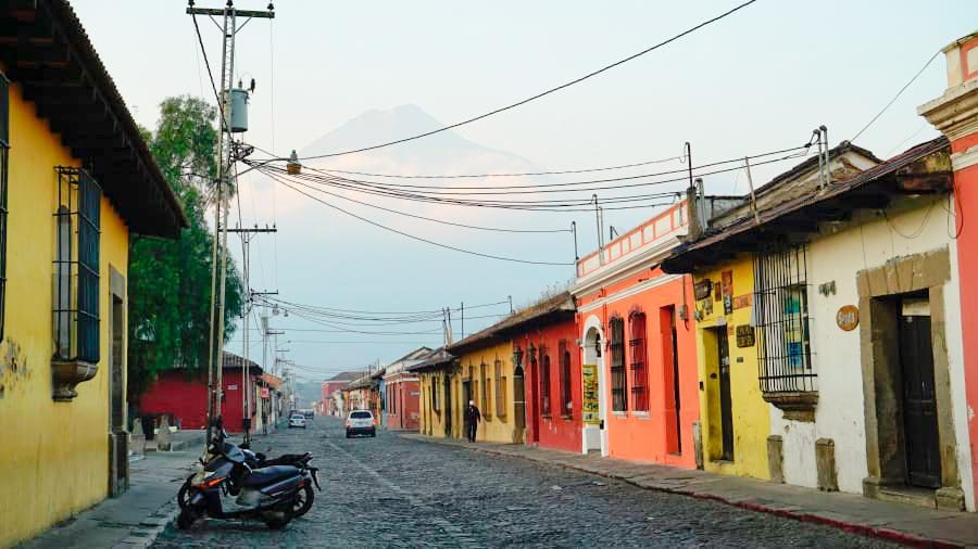 Lugares en Antigua Guatemala