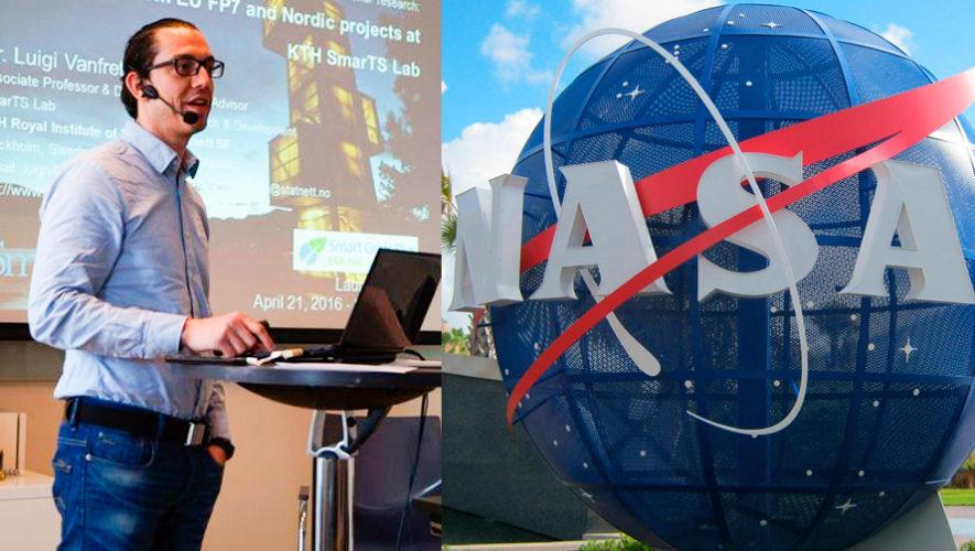 Luigi Vanfretti forma parte de proyecto de aviones eléctricos que es financiado por la NASA