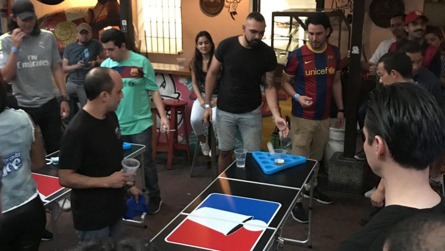 Satélite 4: Torneo Nacional de Beer Pong en Xela | Mayo 2019