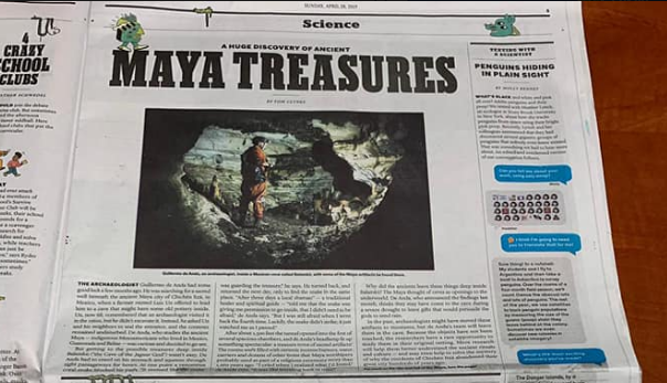 Misterios de los Mayas enThe New York Times