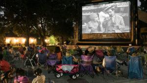 Noche de cineconciertos al aire libre   Mayo 2019