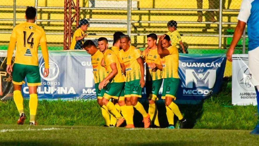 Partido de Guastatoya y Chiantla por el Torneo Clausura   Mayo 2019