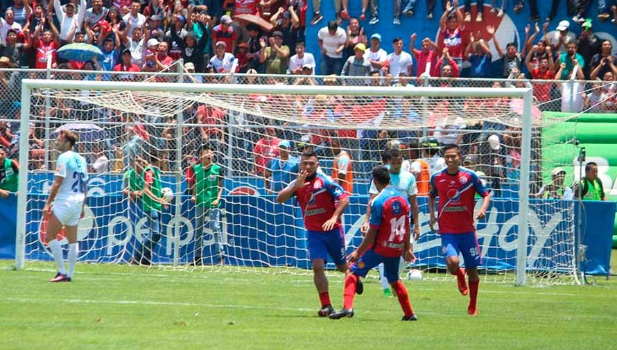 Partido de Xelajú y Sanarate por el Torneo Clausura | Mayo 2019