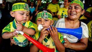 Partido de ida Guastatoya vs. Antigua, semifinales del Torneo Clausura | Mayo 2019