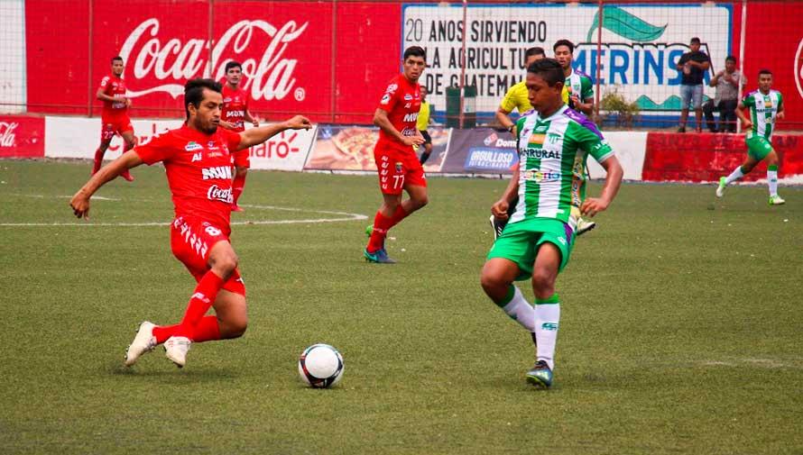 Partido de ida Malacateco y Antigua, final del Torneo Clausura   Mayo 2019