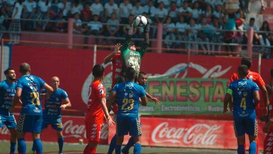 Partido de ida Malacateco y Cobán, semifinales del Torneo Clausura | Mayo 2019