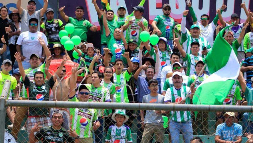 Partido de vuelta Antigua y Guastatoya, semifinales del Torneo Clausura | Mayo 2019
