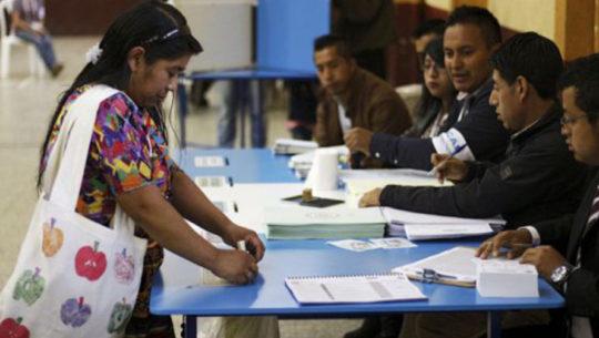 Pasos para votar en las Elecciones Guatemala 2019