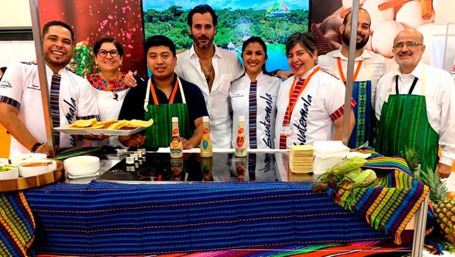 Platillos guatemaltecos cautivaron en International Gastronomy Tourism Fair 2019 en Miami