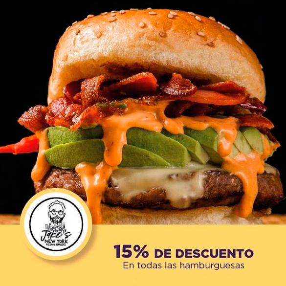 Promoción de hamburguesas