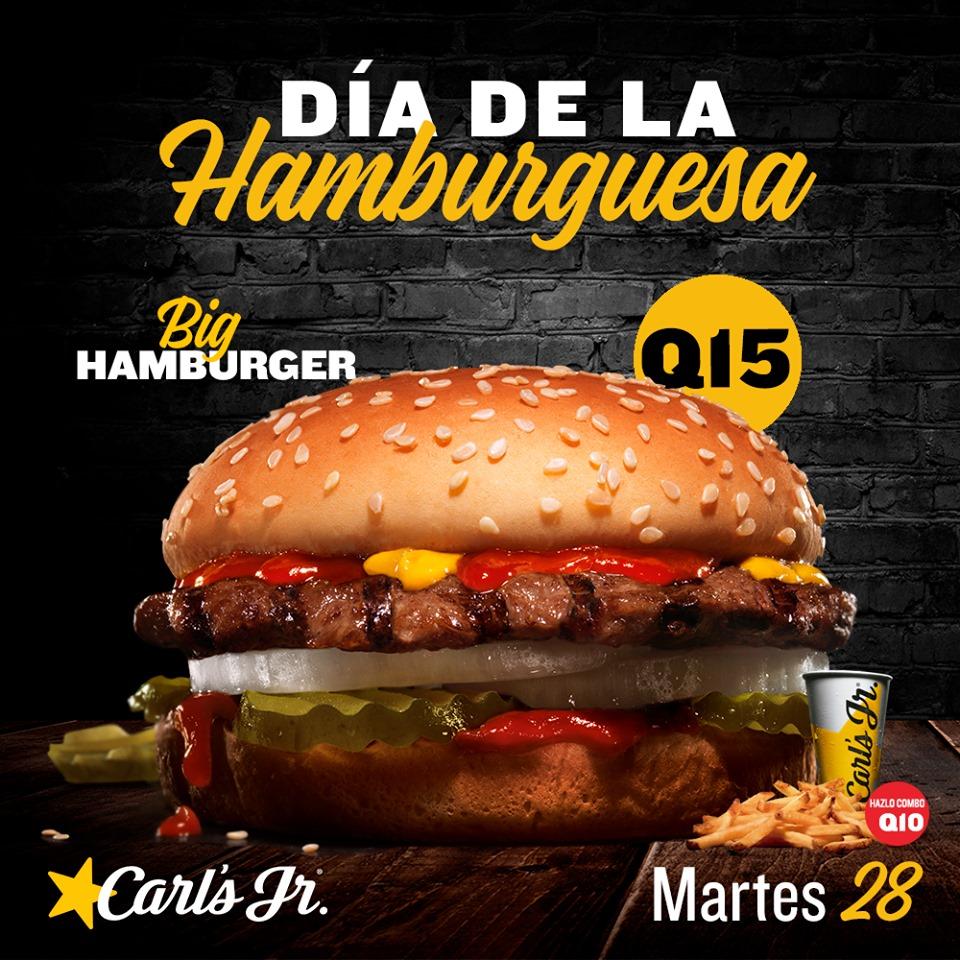 Promociones por el Día Internacional de la Hamburguesa