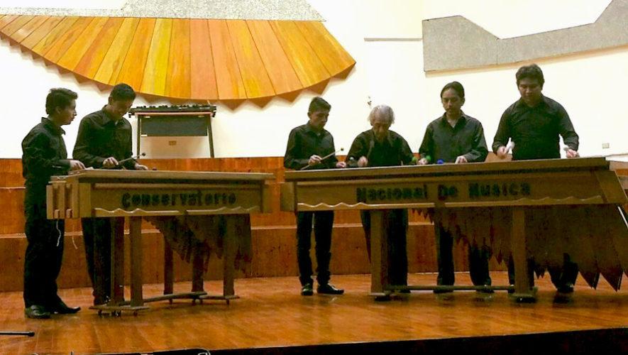 Recital gratuito de la Marimba de Concierto | Mayo 2019