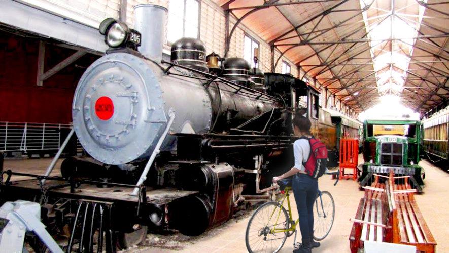 Recorrido en bicicleta por las vías del ferrocarril de la Ciudad de Guatemala | Mayo 2019