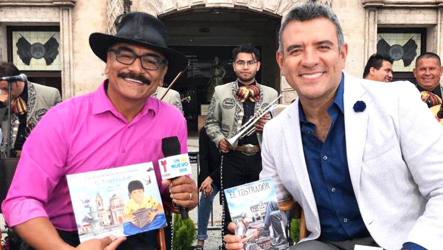 René Corado es entrevistado por Héctor Sandarti en Telemundo