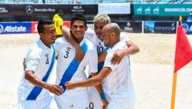 Resultados de Guatemala en el Campeonato Concacaf de Playa 2019