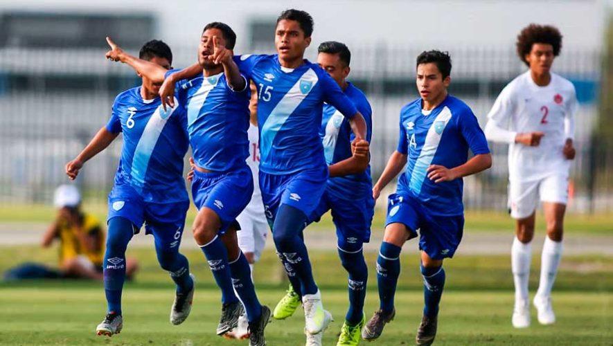 Resultados de Guatemala en el Premundial Sub-17 de la Concacaf 2019