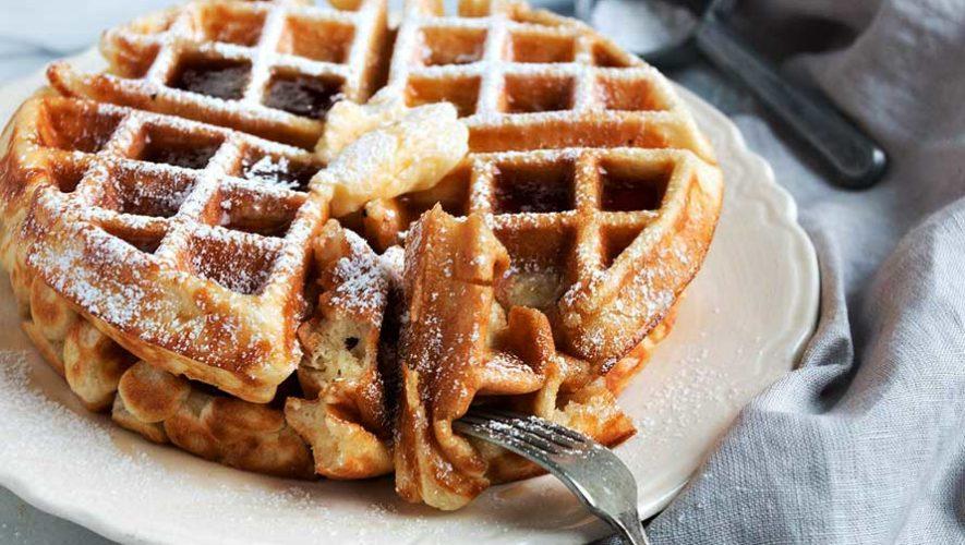 Todo lo que puedas comer de waffles en Panquewafles   Junio 2019