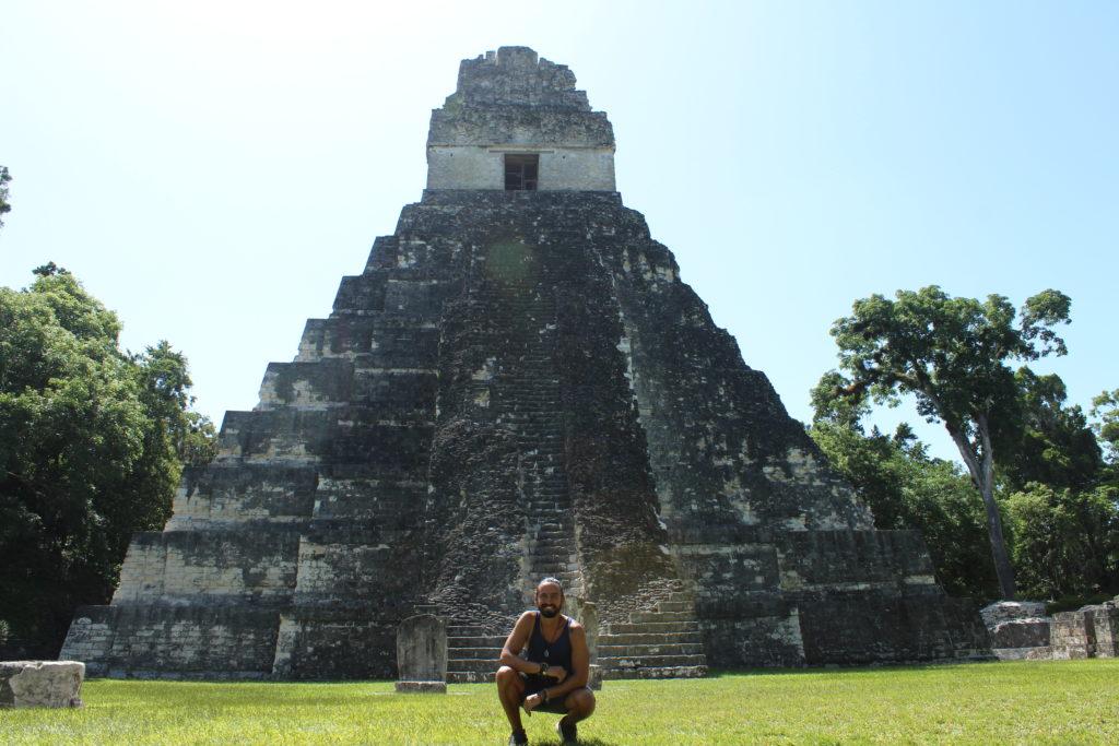 Tómate la foto con el Templo del Gran Jaguar