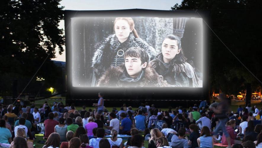Transmisión en pantalla gigante del capítulo final de Game Of Thrones | Mayo 2019