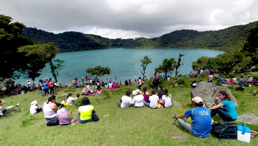 Viaje de un día para visitar la laguna de Ipala | Mayo 2019