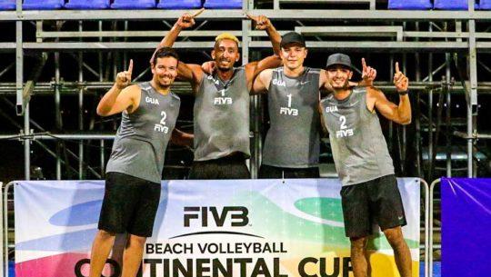 Voleibol de playa de Guatemala sueña con el pase a los Juegos Olímpicos de Tokio 2020