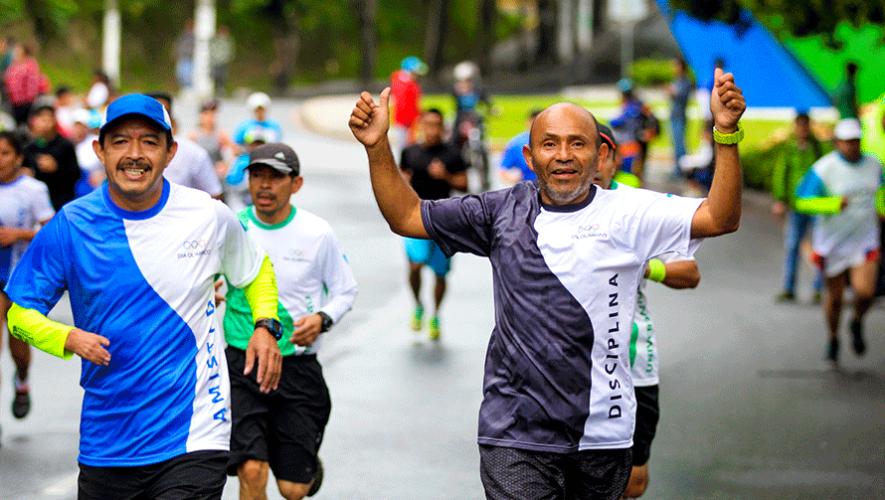 31 Carrera del Día Olímpico en Guatemala | Junio 2019