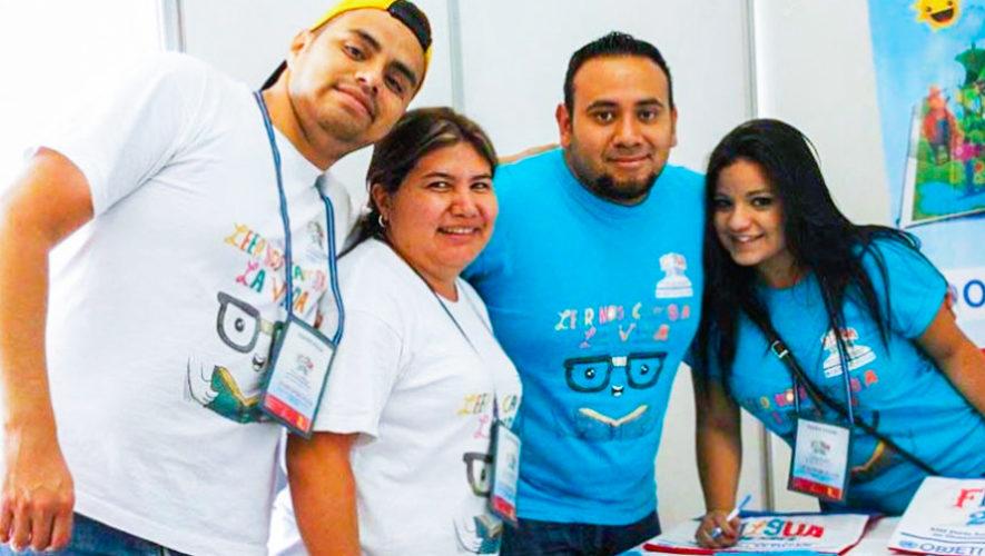 Buscan voluntarios para la Feria Internacional del Libro en Guatemala, Filgua 2019