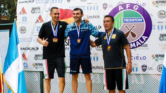 Campeones mundiales brindaron espectáculo en el Torneo Internacional de Frontón 2019