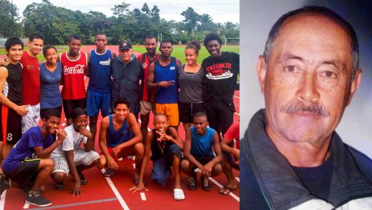 Carlos Guillermo Iriarte, el mentor del atletismo en Izabal