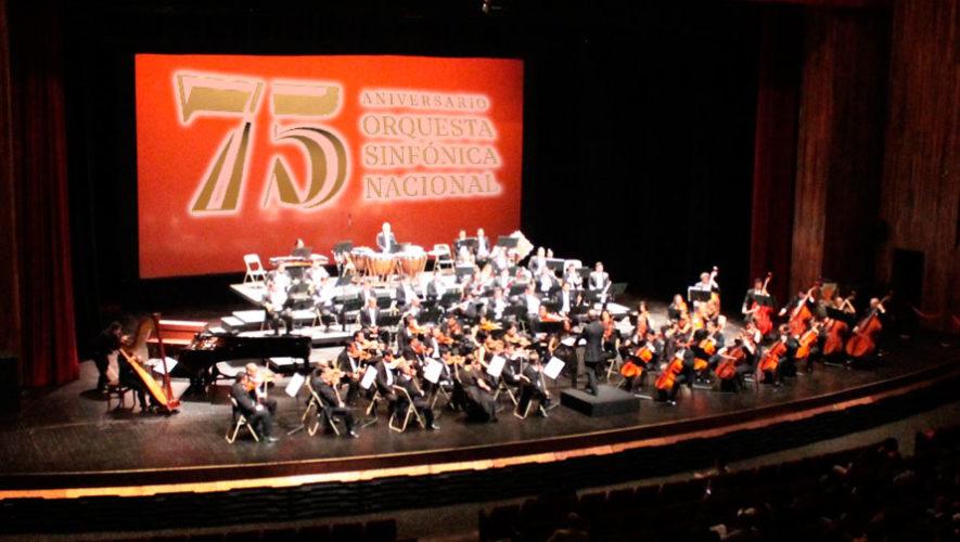 Concierto de gala de aniversario de la Orquesta Sinfónica Nacional | Julio 2019