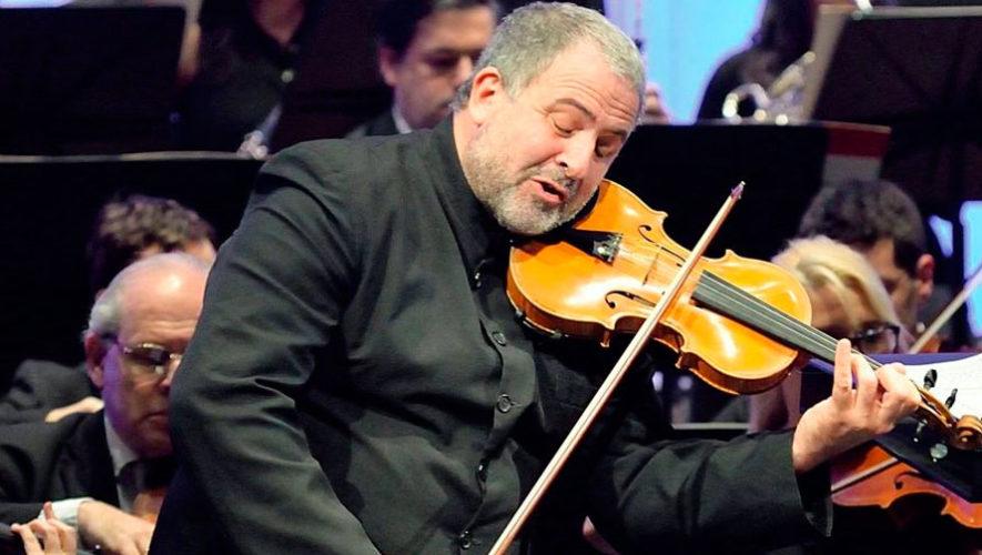 Concierto de violín y orquesta en la Ciudad de Guatemala | Junio 2019