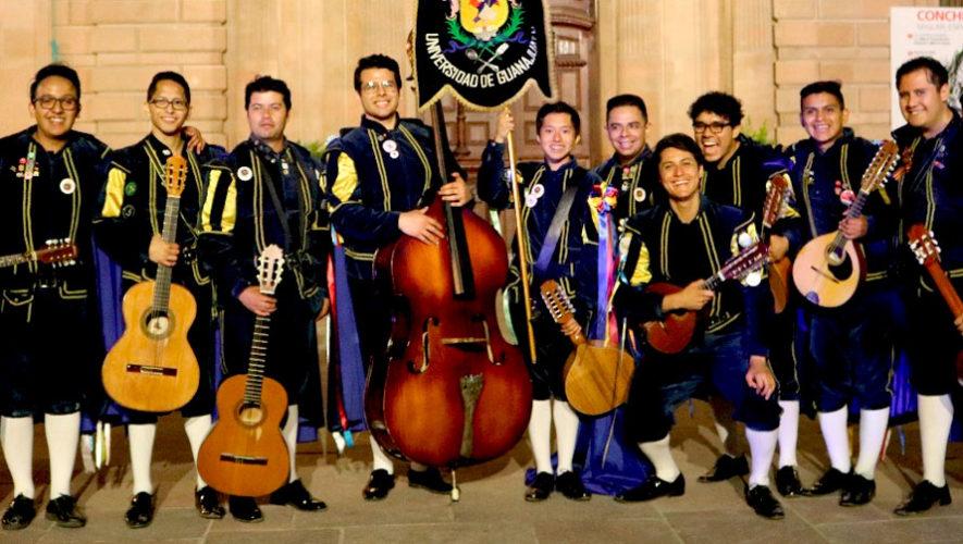 Concierto gratuito con estudiantinas de Guatemala y México   Junio 2019