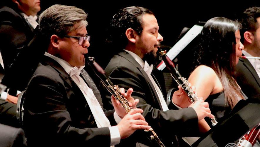 Concierto gratuito de la Orquesta Sinfónica Nacional en la USAC | Junio 2019