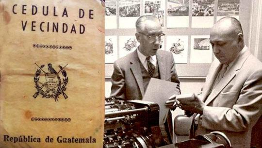 Documentos antiguos que se utilizaban en Guatemala