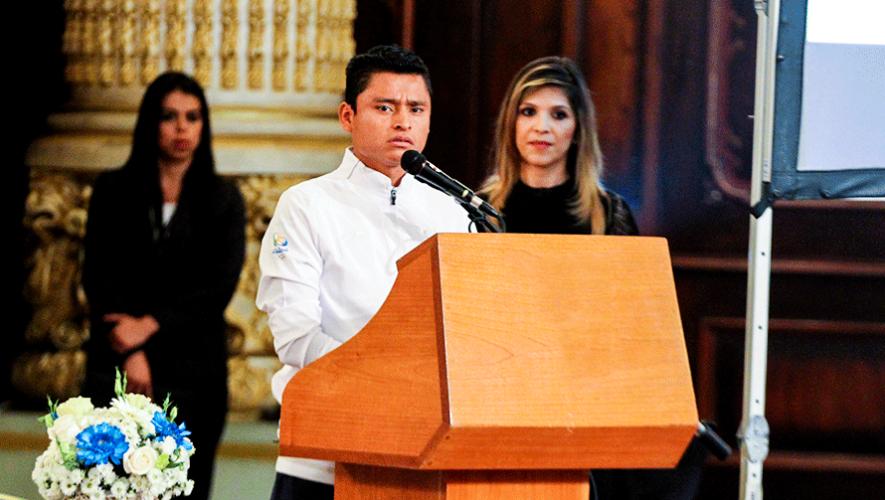 El emotivo discurso de Erick Barrondo que erizó la piel de los guatemaltecos