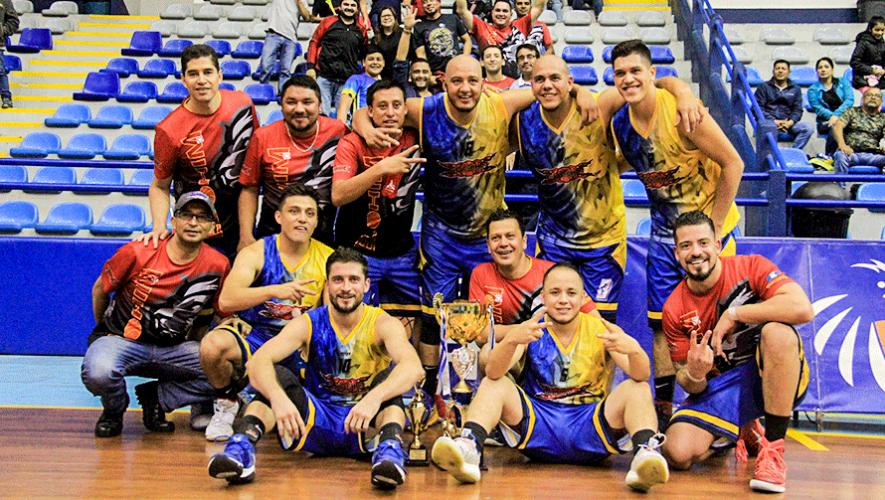 Elohim Chimaltenango es bicampeón de la Liga Metropolitana Masculina 2018/2019