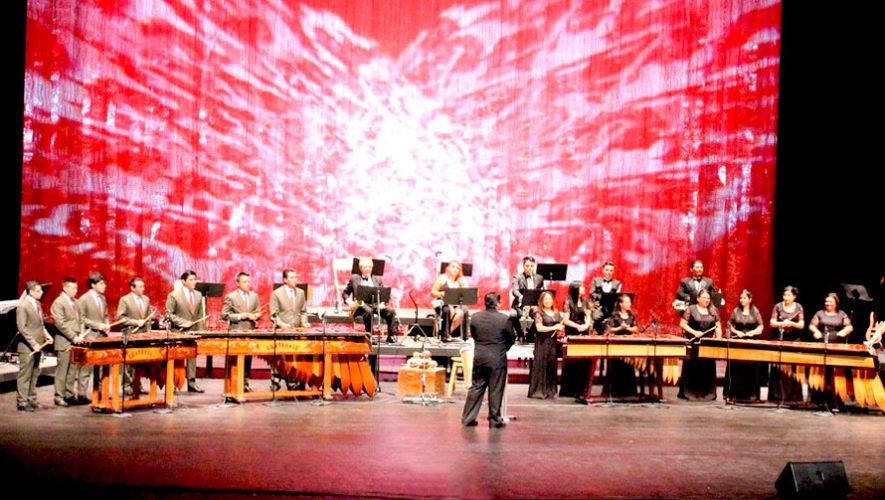 Ensamble de Marimbas en la Gran Sala del Teatro Nacional | Agosto 2019
