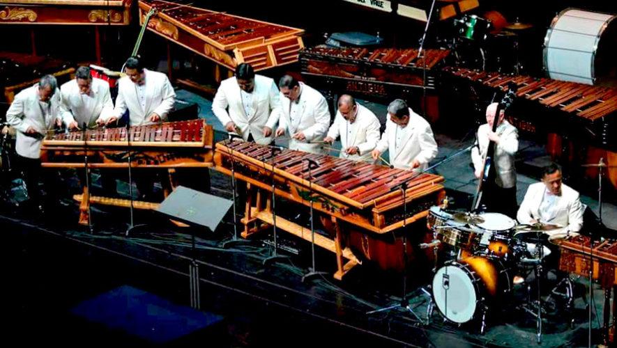 Ensamble de marimbas por aniversario de Chapinlandia | Festival de Junio 2019