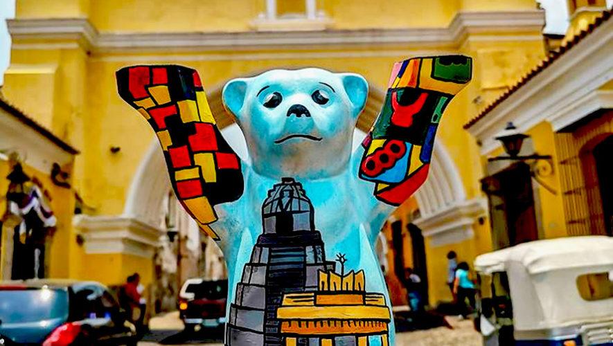 Exposición artística de Buddy Bears antigüeños | Junio 2019