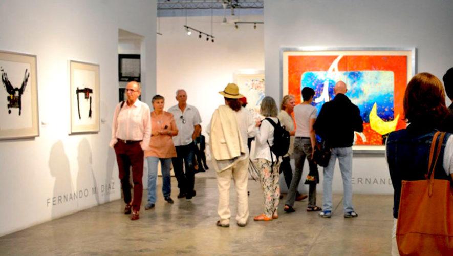 Exposición del artista mexicano Fernando M. Díaz en Guatemala | Julio 2019