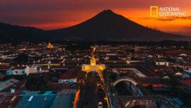 Foto de Antigua Guatemala captada por Haniel López fue publicada por National Geographic