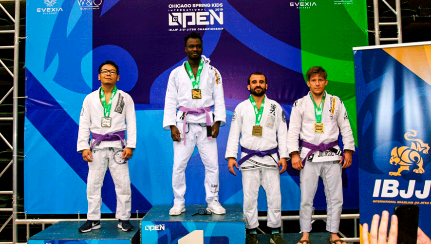 Franky Tobias ganó bronce en el Chicago Spring International Open 2019